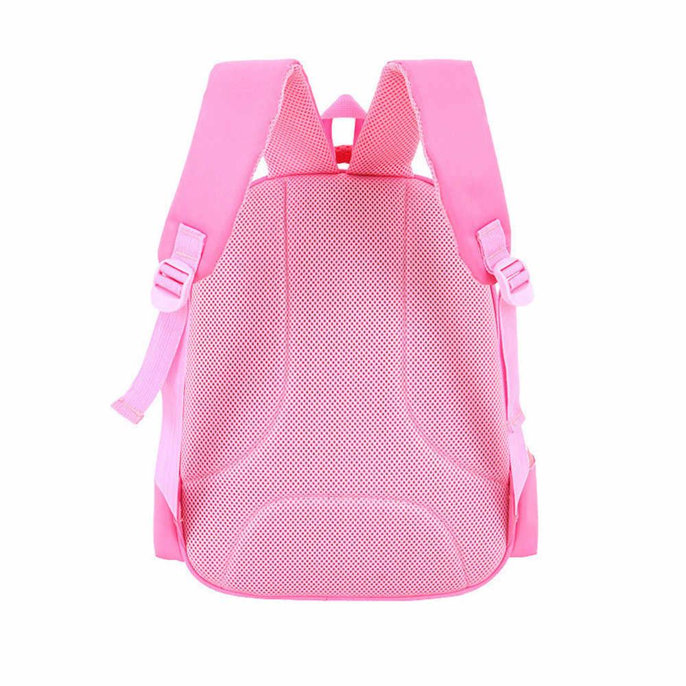 Bolsas escolares de dibujos animados 3D para niños, mochila de alta calidad, mochila para niños, mochila para niñas, mochila para niñas