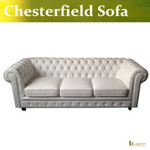 U BEST Chesterfield Sofa Couch Red Leather Stud 3 seater chesterfield Country Style living room sofa