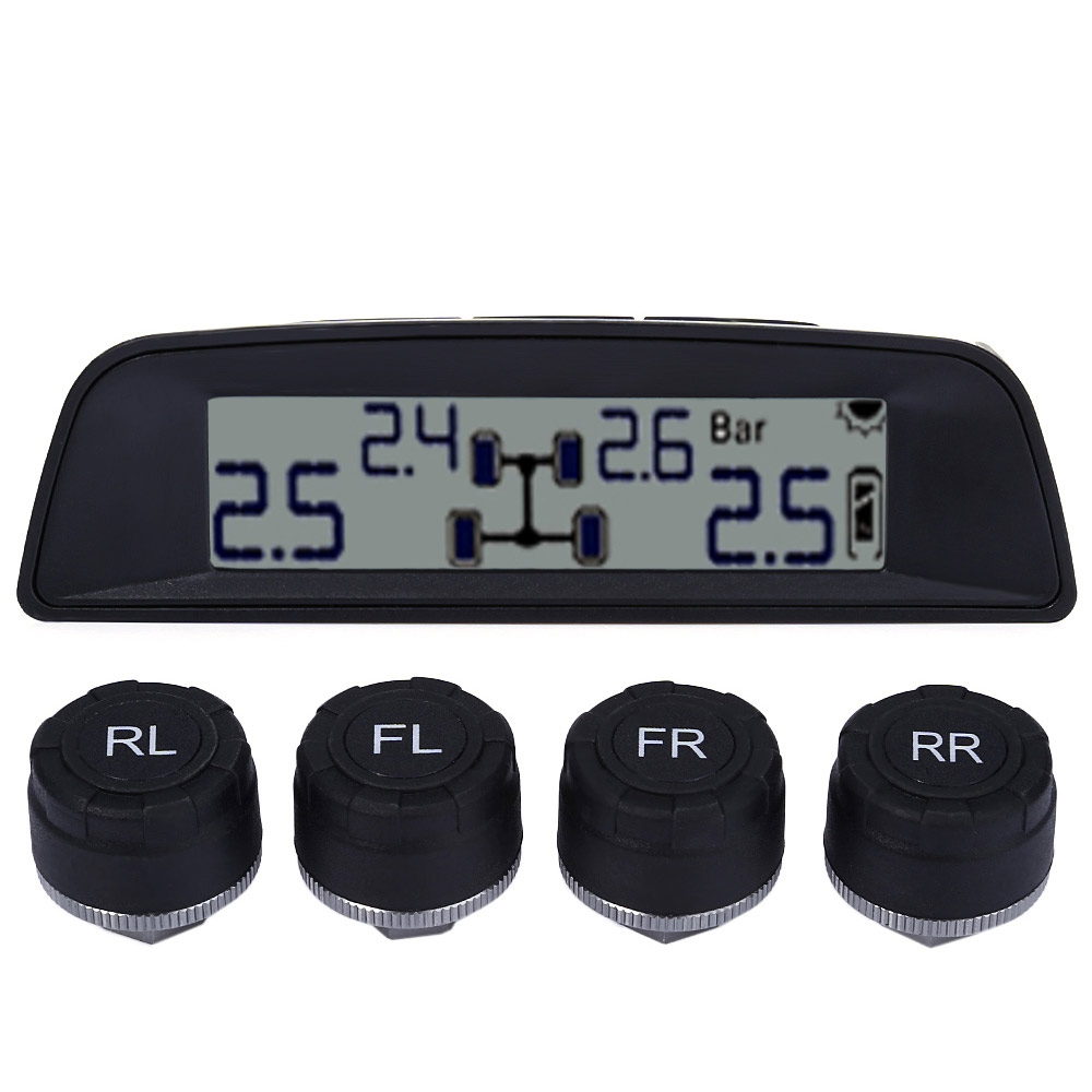 TPMS - 03W Universal TPMS Solar Power External Sensor LCD Digital Tire Pressure Monitoring System dhl ems dias automation 64 245001 rev a multifunctional board a1