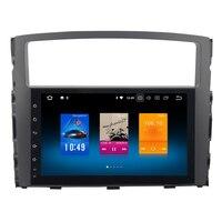 RoverOne Android 8.0 Octa Core Car Radio GPS For Mitsubishi Pajero V97 V93 2006 9'' Touchscreen Multimedia Player Head Unit