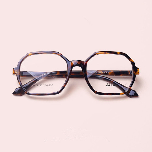 TR 90 Óculos de Luz Tartaruga Óculos de Prescrição Mulheres Óculos de Armação
