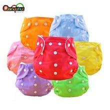 5 шт./лот, детские подгузники, многоразовые подгузники для новорожденных, тканевые моющиеся подгузники, свободный размер, регулируемые подгузники, зимняя, летняя версия