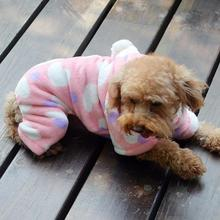Winter Jumpsuit Garments Pet Canines Coronary heart Hoodie Costume Fleece Cat Heat Comfortable Coats H1
