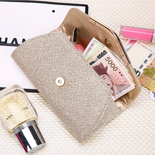 Korean version of the ladies hand wallet cosmetics storage in the long paragraph PU bag 2019 new fashion hipster