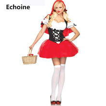 Women Cosplay Princess Costume Dress Christmas  Halloween Girl Clothing Roleplay Bandage Mini Pleated