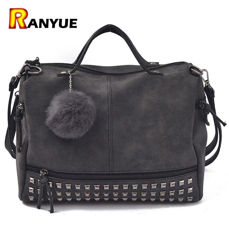 2016 New Arrive Rivet Women Shoulder Bags