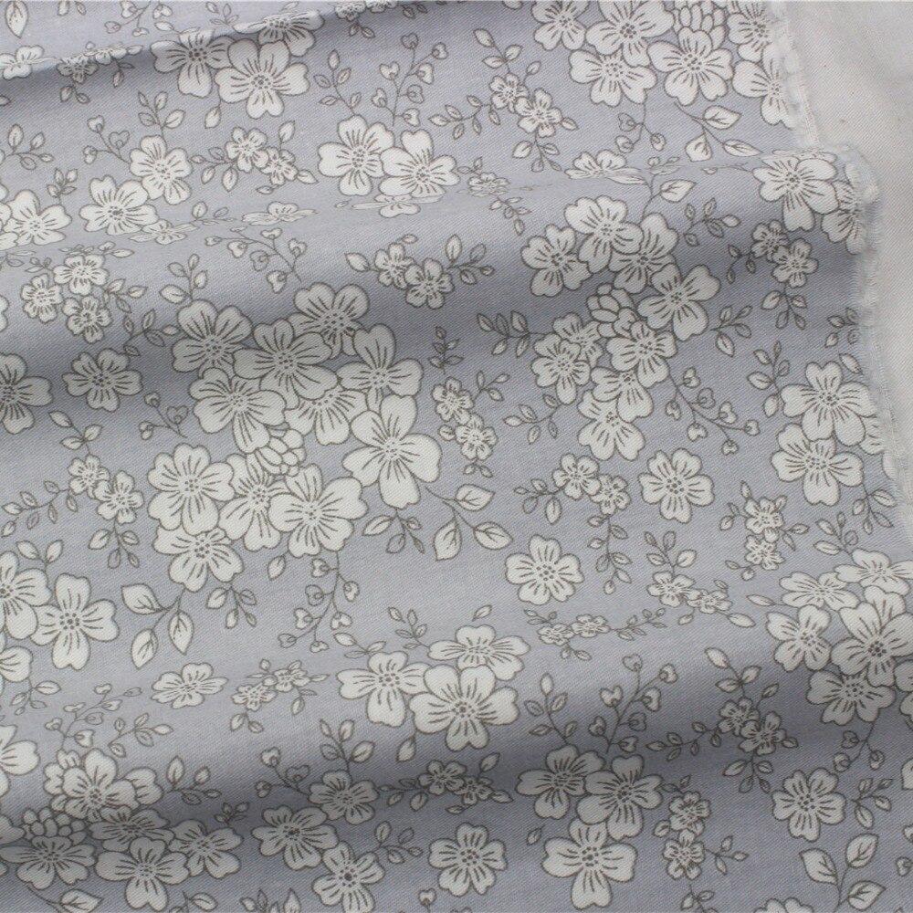 165118F1, 50 cm * 150 cm flores de tela de algodón serie, diy patchwork hecho a