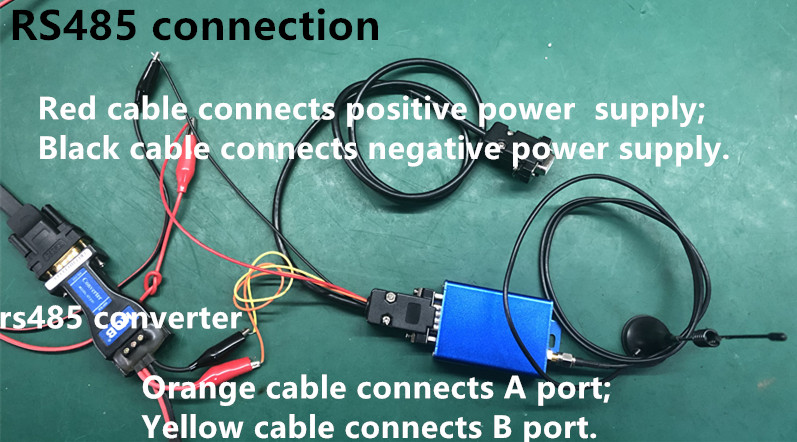 RS485 connection_