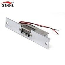 Elektryczny zamek drzwiowy do systemu kontroli dostępu nowy Fail safe 5YOA Brand New StrikeL01