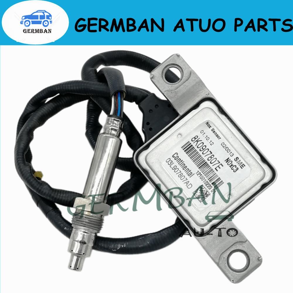 Nouvelle Fabrication D'oxyde D'azote Nox Capteur Numéro # 8K0907807E Pour 12-14 VW Passat 2.0 8K0907807E 03L907807AD