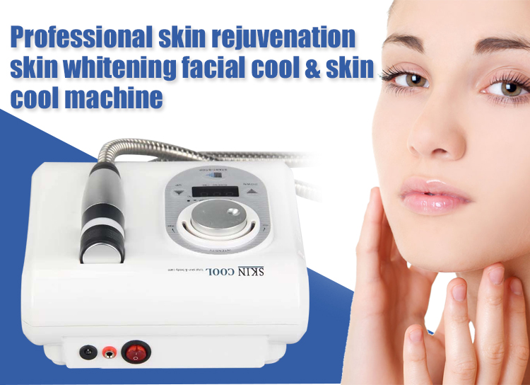 HOT Skin Care Cool And Hot Device Electroporation No Needle Cryotherapy Meso Equip Skin Rejuvenation Facial Spa Machine