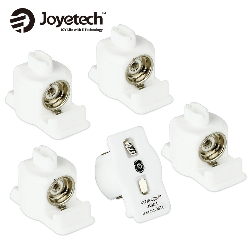 100% Original Joyetech ATOPACK JVIC1 Coil 0.6ohm Mouth To Lung Vape/JVIC2 DL Coil 0.25ohm Direct Lung Vaping For Atopack Penguin