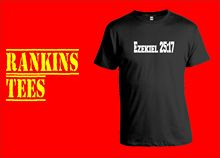 PULP FICTION T-Shirt. Ezekiel 27:17 Film Movie DVD New T Shirts Funny Tops Tee Unisex
