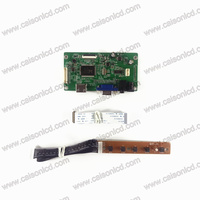 RTD2556 HDMI VGA الصوت edp lcd سائق مجلس كيت ل lcd لوحة 1920X1080 VVX11F009G00 B116HAN03.3 B116HAN03.2 سهلة diy إصلاح