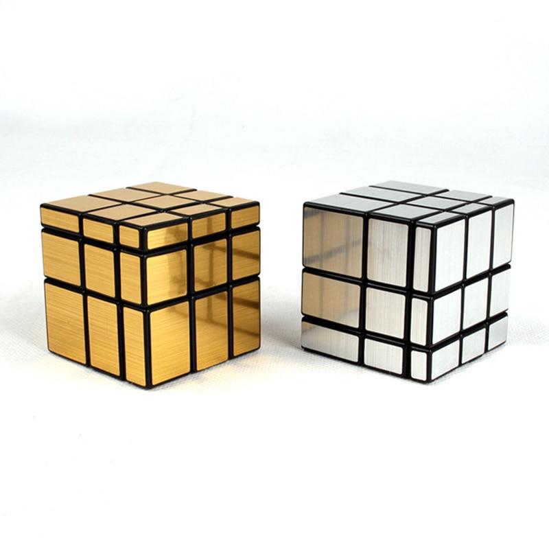 Magic Cube Third-order Mirror Shaped Children Creative Puzzle 1