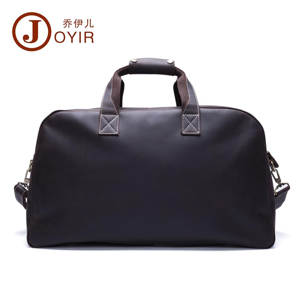 2017 Designer Handbags High Quality Genuine Leather Travel Bag Men Travel Bags Vintage Luggage Large Duffle Bag Weekend Bag 6318