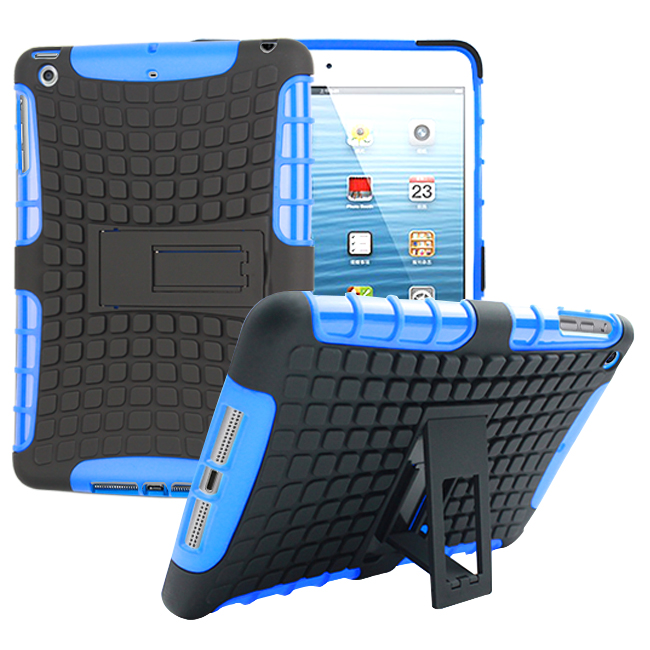 Za Apple iPad mini 1 2 3 ovitek za težke oklepe Hibridno stojalo za - Dodatki za tablične računalnike - Fotografija 4