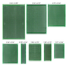 5pieces Universal Strip Breadboard For Arduino Electronic Soldering Projects 8 Sizes Tin Plated Prototyping PCB Circuit Board(China)