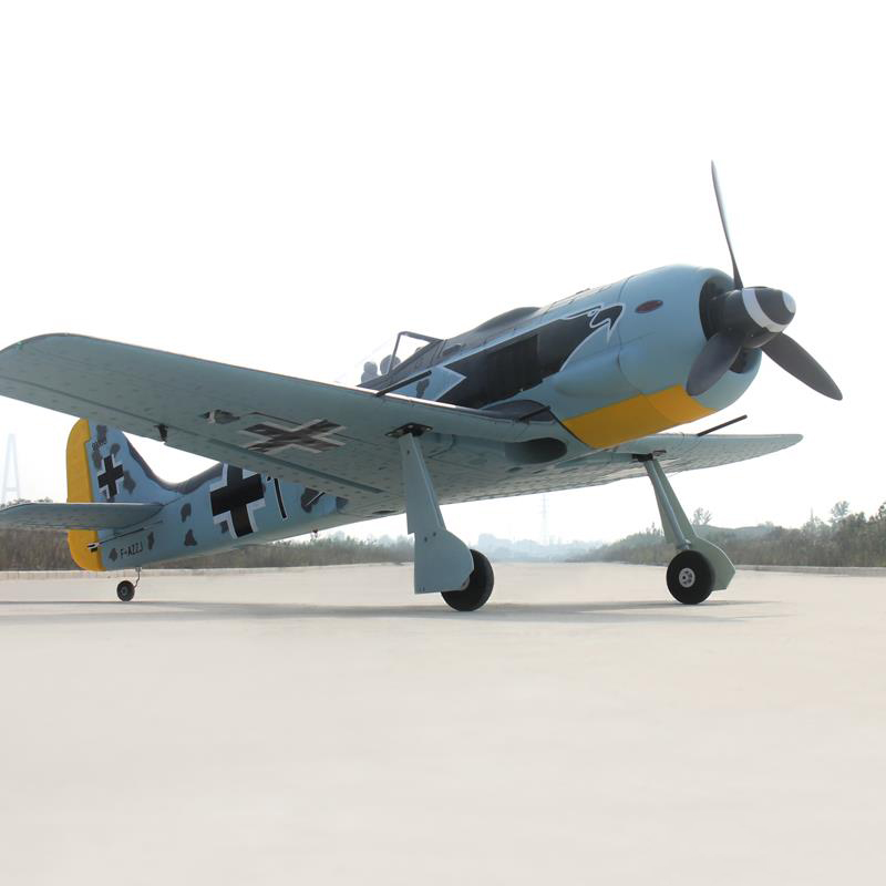 Dynam 1270M Focke-Wulf FW-190 RC PNP/ARF Propeller Plane W/ Motor ESC Servos john plansky fit for growth a guide to strategic cost cutting restructuring and renewal