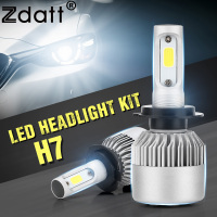 2Pcs H4 LED Bulb Headlight 72W 8000LM Car LED Lights Hi Lo Beam Lamp 6500K White
