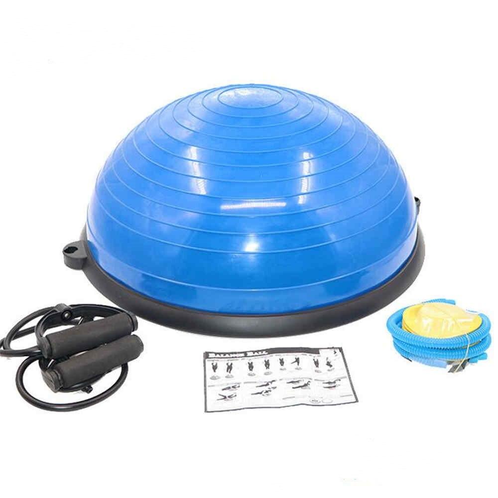 Balle de Yoga spéciale équilibre hémisphère Pilates Sport Fitness vague vitesse balle Yoga hémisphère femmes nouveau