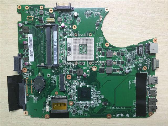 Envío libre da0blbmb6a0 para toshiba satellite l750 l755 a000080670 da0blbmb6f0 placa base. todas las funciones 100% Probado completamente!