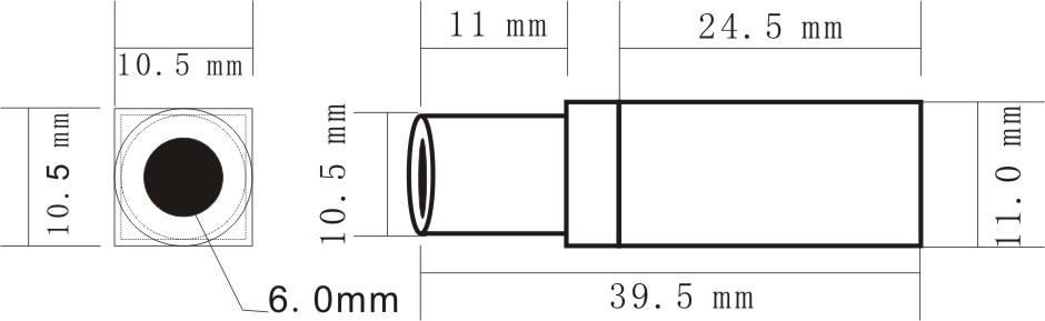 8 g lengvos, 5,8 GHz mažos stebėjimo kameros, 0,008Lux Night Vision - Fotoaparatas ir nuotrauka - Nuotrauka 2