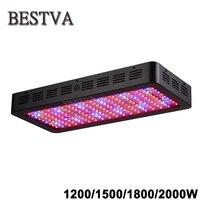 BestVA Negro 1200 W 1500 W 1800 W 2000 W Espectro Completo llevó la caja de luz para crecer carpa invernadero llevado crecer plántulas de flores de luz