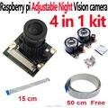 Raspberry Pi Módulo Da Câmera de Visão Noturna Da Câmera Focal Ajustável para câmera Noir Raspberry Pi Raspberry Pi 2/3 Modelo B