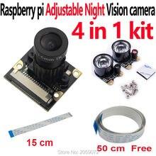 Raspberry Pi Módulo de cámara de visión nocturna ajustable, Focal, para Raspberry Pi 2/3/4B Modelo B