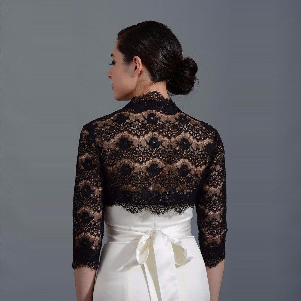 Bolero pour robe noire