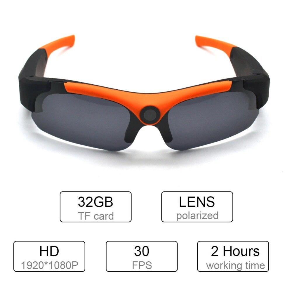 Full HD 1080P Sunglasses TF Mini DVR Camera Digital Audio Video Recorder