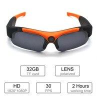 Mini gafas de sol con cámara HD 1080P ligeras, grabación de vídeo Digital, para deportes al aire libre, alta calidad