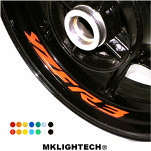 k-sharp 8 X CUSTOM INNER RIM DECALS WHEEL Reflective STICKERS STRIPES FIT YAMAHA YZF R3