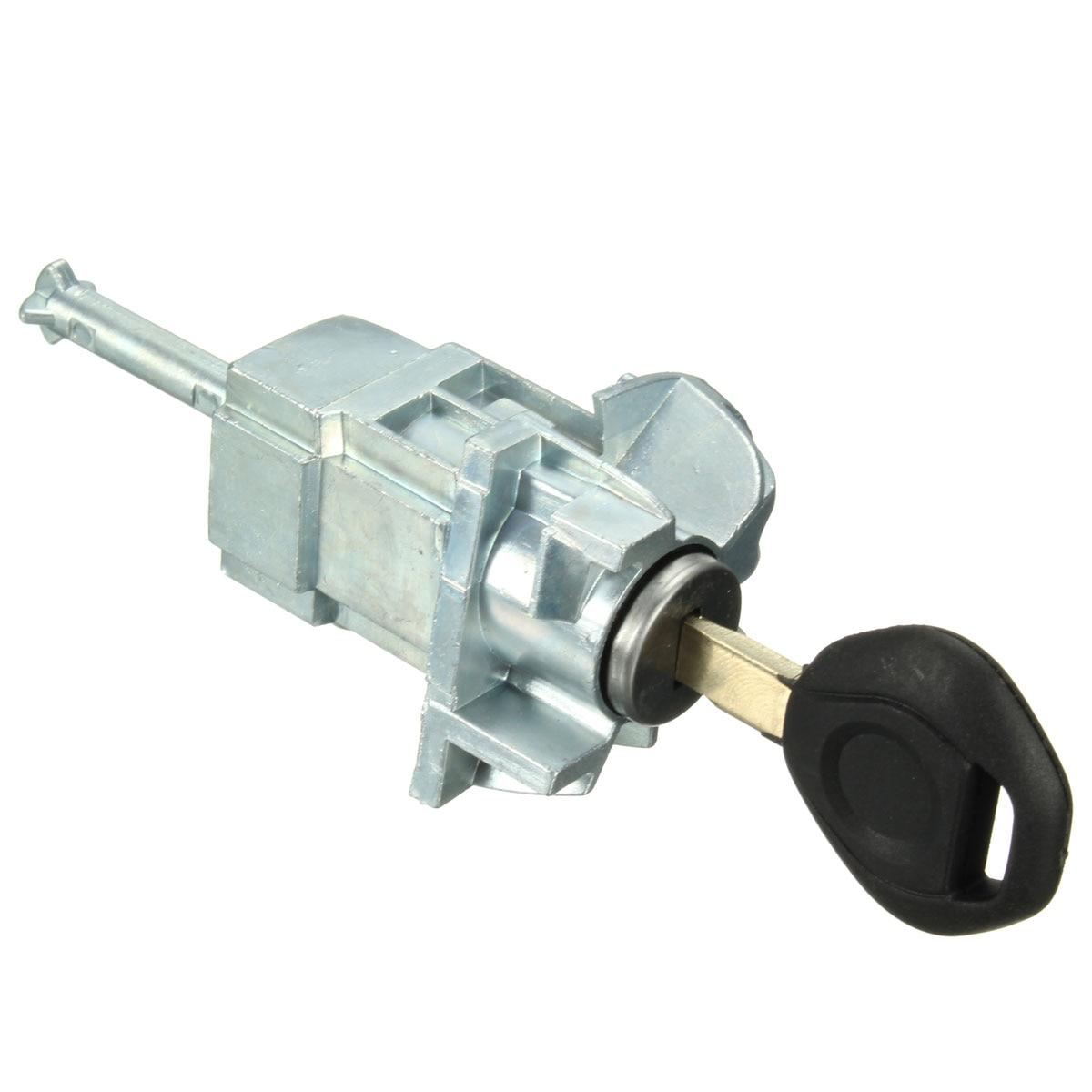 Für BMW/E46 3 Serie Vorne Links Fahrer Türschloss Zylinder Barrel Montage Schlüssel