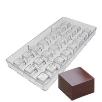 غولدبيكينج بولي كربونات مربع الشوكولاته قالب الحلوي الشوكولاته لتقوم بها بنفسك قوالب-في قوالب الكعك من المنزل والحديقة على