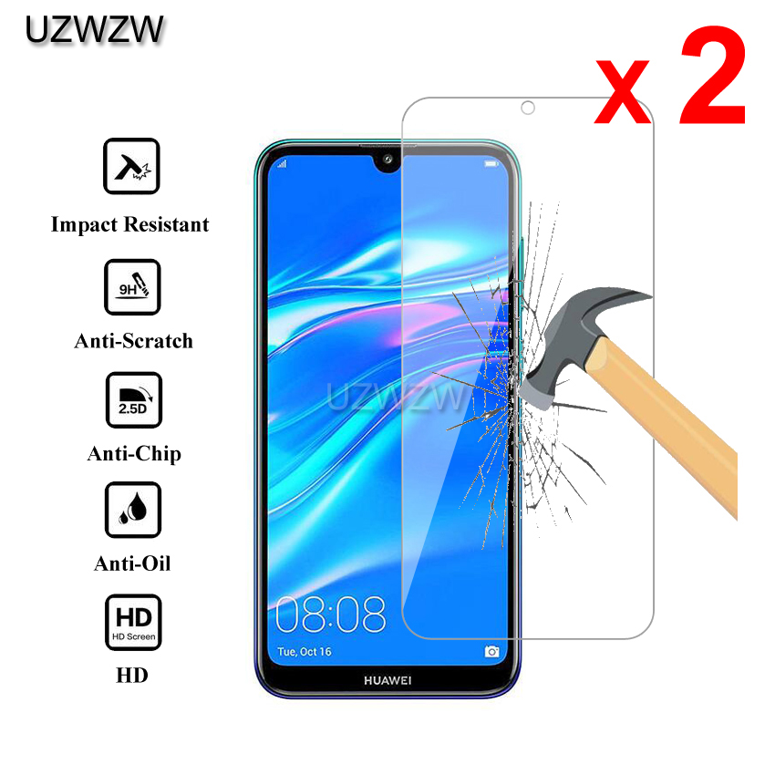 2pcs Glass For Huawei Y7 2019 / Y7 Pro / Y7 Prime 2019 Tempered Glass Screen Protector For Huawei Y7 Prime 2019 Protective Glass