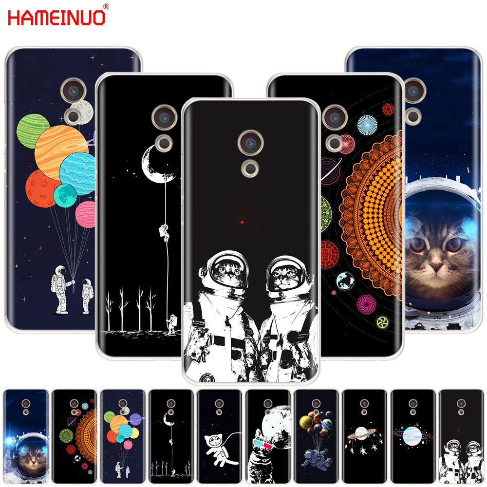 Cellphones & Telecommunications Hameinuo Space Love Moon Astronaut Cat Cover Phone Case For Meizu M6 M5 M5s M2 M3 M3s Mx4 Mx5 Mx6 Pro 6 5 U10 U20 Note Plus Regular Tea Drinking Improves Your Health