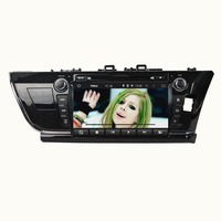 9 Inch Android 4 4 4 Dual Quad Core Car DVD Player For TOYOTA For COROLLA
