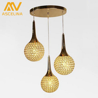 Crystal Chandeliers Crystal Light Modern K9 Crystal Chandelier Bedroom Lamps Dining Restaurant Clothing Store Lamp Shade