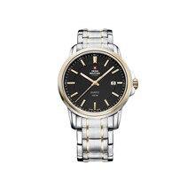 Наручные часы Swiss Military SM34039.04 мужские кварцевые на биколорном браслете