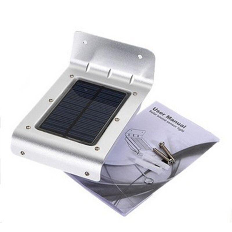 Solar Powered 16 LED Outdoor Motion Sensor Light Waterproof Wireless Night Light Wall Lamp Security Light For Entrance Garden