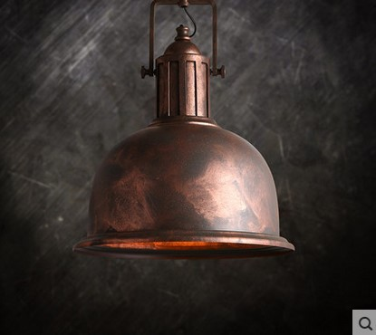 American Retro Loft Vintage Lamp Industrial Style Pendant Lighting Edison Light Fixtures,Lamparas Industrial Colgantes