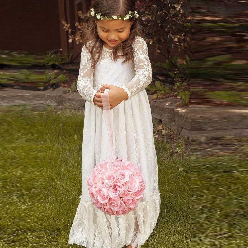 Compare Prices on A Line Vintage First Communion Dresses- Online ...