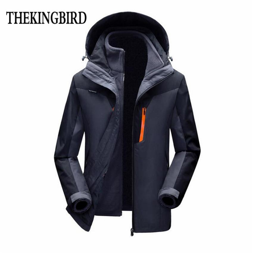 Hombres de dos piezas de la chaqueta de invierno 2016 nuevo vendedor - Ropa de hombre