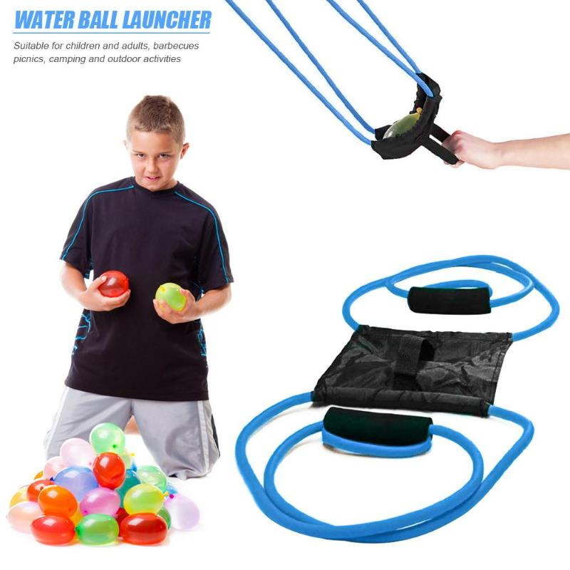 Water Balloon Launcher Slingshot Outdoor Toys Water Gun Beach Water Fight Snowball Throw Snowballs Fighter