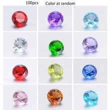 100Pcs Mixed Color 4MM Loose Beads Cubic Zirconia Crystal Birthstones