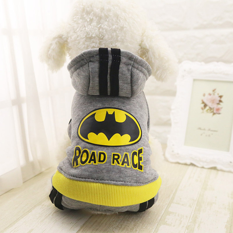 Dog Soft Cotton Four Legs Hoodies Outfit For Small Dogs
