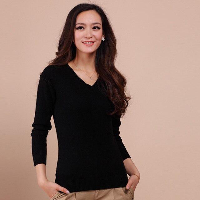 Высокое качество больше цветов осень зима 2015 новый европейский стиль женщины мода пиджаки пуловеры трикотажные кашемировый свитер женщин