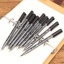 Supplie почерк водной основе различные рисования лайнер пигмент размеры совет маркер